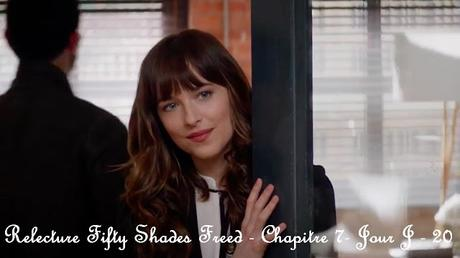 Relecture Fifty Shades Freed - Chapitre 7 - Jour J - 20