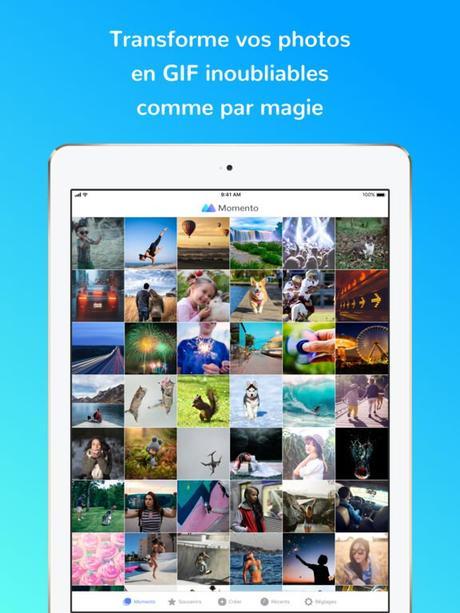 App du jour : Momento – Créateur de GIF (iPhone & iPad – gratuit)