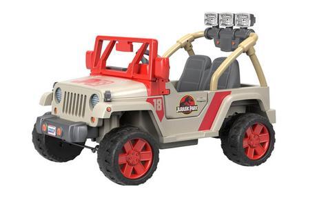 Jurassic Park : lancement d'une Jeep électrique pour enfants