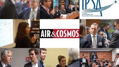 Vidéo : retour sur le symposium d'Air & Cosmos spécial drones civils organisé à l'IPSA Paris