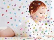 EXPOSITION ALLERGIES pattes, bébés remuent nuages bactéries