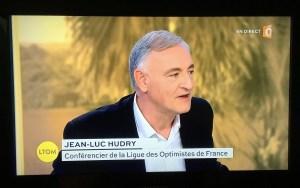 Jean-Luc Hudry, conférencier optimisme