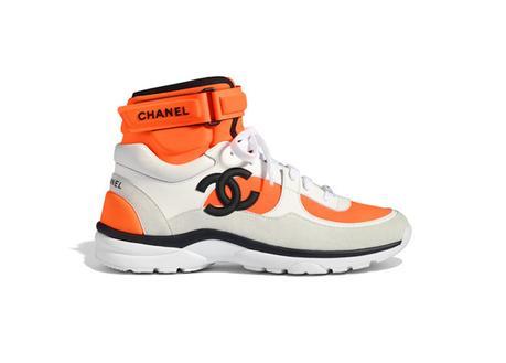 Une collection très colorée de sneakers Chanel pour 2018