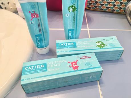 Dentifrice bio Cattier pour les Kids