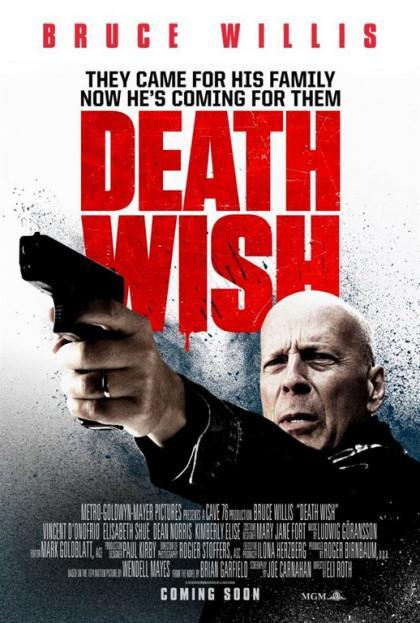 Les infos sur Death Wish, le film de Eli Roth avec Bruce Willis