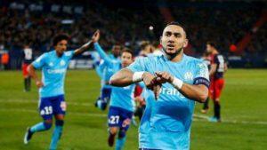 Marseille s'impose 2 buts à 0 à Caen.