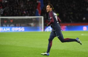 Neymar, auteur d'un quadruplé face à Dijon