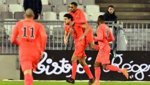 Caen s'impose à Bordeaux 2 buts à 0