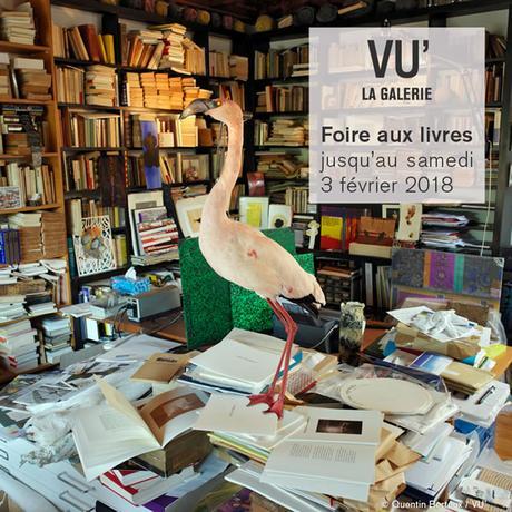 Foire aux livres à la Galerie VU'
