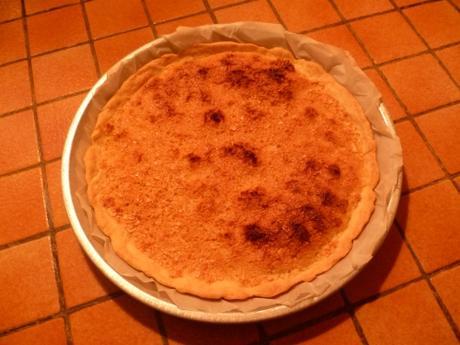 recette de cuisine,tarte,amandes,pâte brisée