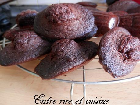 Madeleines au Chocolat 5 épices
