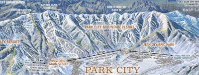 Dur d'avoir un énorme domaine skiable ...