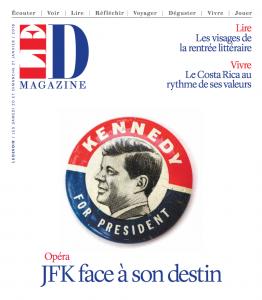 Parlons opéra!… et de JFK avec Pierre Vachon et les costumes des opéras de Chants Libres s'exposent