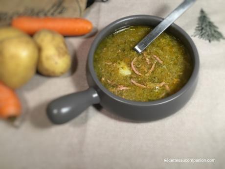 Soupe aux choux au cookeo companion thermomix ou autres robots