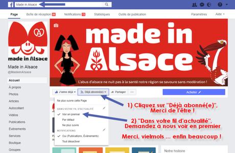 Made in Alsace a besoin de voussur Facebook !