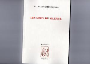 Les mots du silence, de Patricia Castex Menier