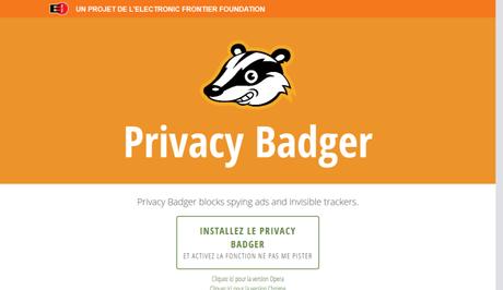 Privacy Badger, l'addon qui protège votre vie privée sur le web