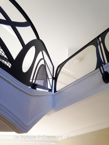 Quand le garde corps design sublime l'Art Nouveau