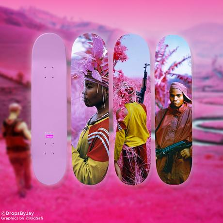 Richard Mosse x Supreme: First Look