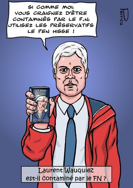 Laurent Wauquiez flirte t'il avec le FN ?