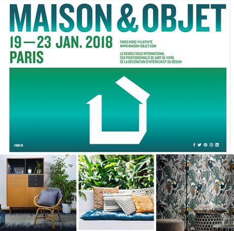 Notre sélection Maison&Objet janvier 2018
