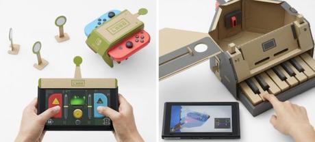 Labo, des cartons pour jouer à la Switch.