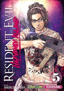 Manga: Resident Evil Heavenly Island Tome 5
