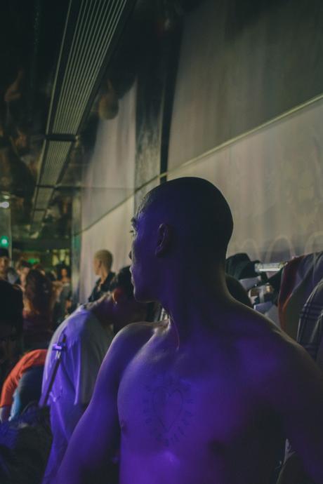 Backstage : le défilé Andrea Crews homme Automne-Hiver 2018/2019