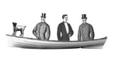 Trois hommes dans un bateau... sans parler du chien