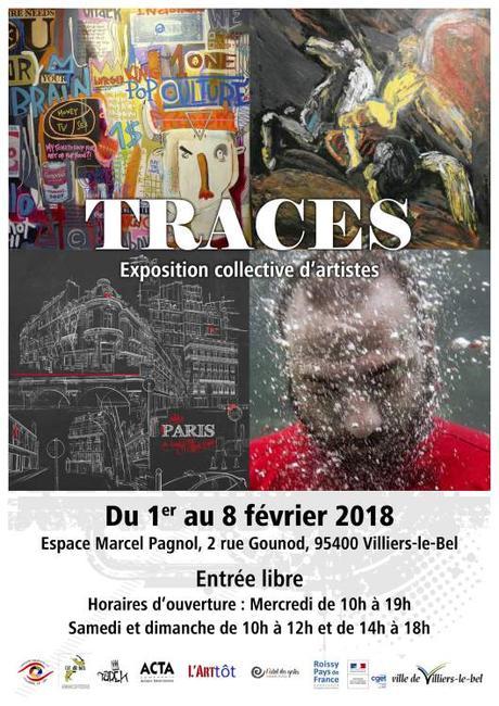 Exposition Traces à Villiers-le-Bel