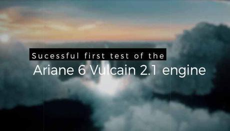 Premier test réussi pour le moteur Vulcain d'Ariane 6