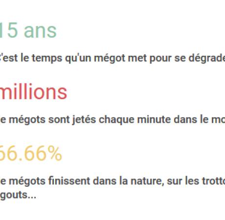 #Ecologie : RECYCLAGE DES MÉGOTS DE CIGARETTES dans la #Manche ! #MéGo
