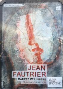 Prochainement à Paris : Jean Fautrier au M A M et  » Coming Soon » Palais de Tokyo