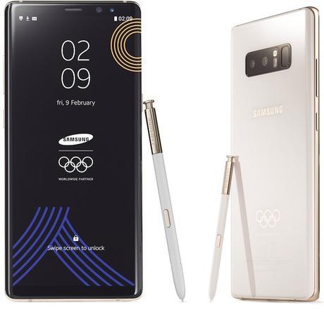 Samsung : une édition spéciale du Note 8 pour les athlètes !