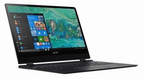 CES 2018 : Acer Swift 7, le PC portable le plus fin du monde version 2018 et d'autres