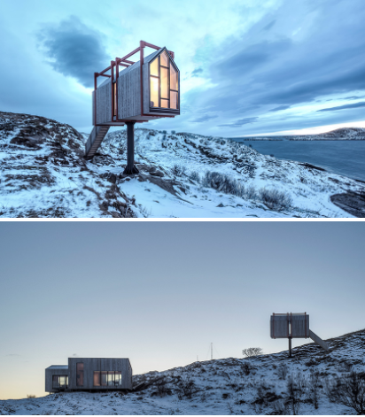 Architecture : le Fordypningsrommet fleinvaer