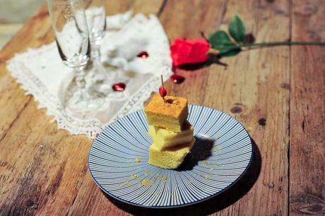 Gâteau léger et moelleux à la Bergamote. Cuisson à l'omnicuiseur