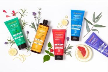 Florame lance sa gamme de shampooings bio sans sulfate