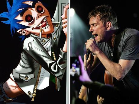 Gorillaz, Arctic Monkeys, Graham Coxon