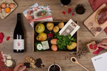Rutabago : un panier-recettes 100 % bio spécial St Valentin livré chez vous