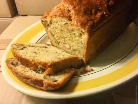 Salés 2/2 – Cake tofu/jambon et olives