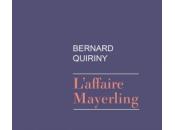 [babelio, masse critique] l'affaire mayerling, roman bernard quiriny