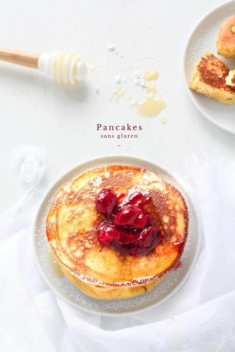 Pancakes moelleux & sans gluten