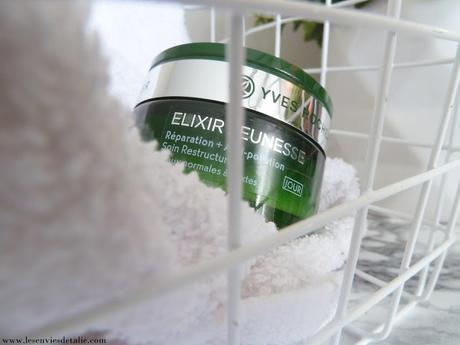 Parenthèse ressourçante avec la gamme Elixir Jeunesse d'Yves Rocher