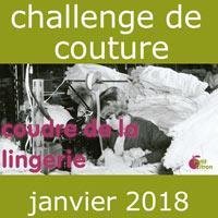 Participez au challenge du mois de février : de la lingerie #challengecoudredelalingerie