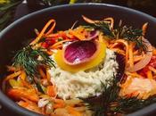Recette d'hiver légère Poêlée poisson coeur brandade façon bowl