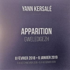 Musée de la Pêche  CONCARNEAU  « Apparition » (Gweledigezh) Yann KERSALE