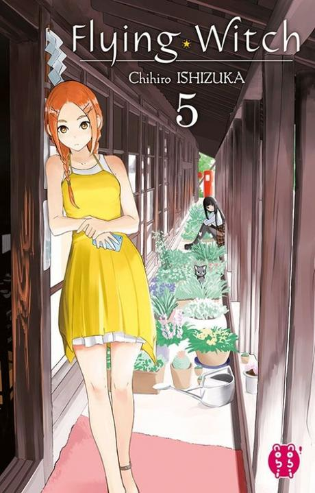 Couverture Flying Witch, tome 5