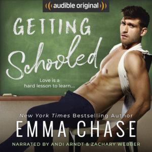 Cover Reveal : Découvrez le résumé et la couverture de Get Schooled d'Emma Chase