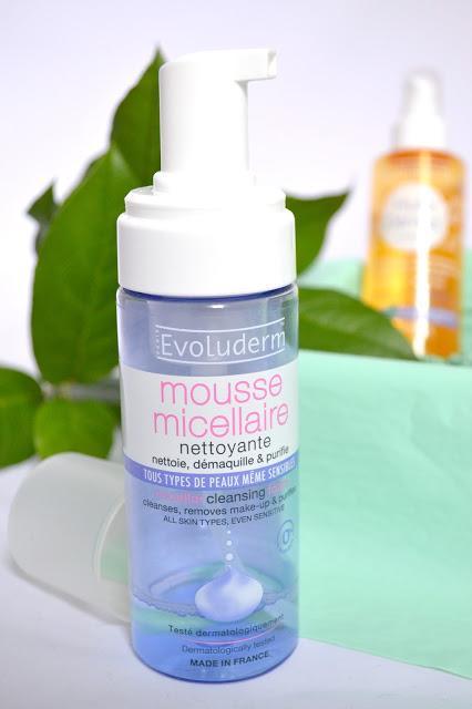 L'huile démaq' et la mousse micellaire : deux nouveautés Evoluderm au banc d'essai